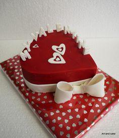 Valentine cake/ Valentijn taart