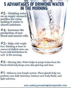 Water Benefits, Dr. Michael Lange says to avoid reverse osmosis or distilled water due to the high acidity and lack of minerals, drink spring water in glass bottles! Www.fortifeye.com