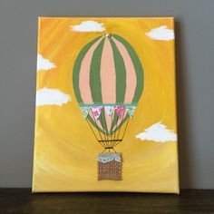 A personal favorite from my Etsy shop https://www.etsy.com/listing/266151458/vintage-hot-air-baloon