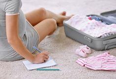 Préparer sa valise pour la maternité et ne rien oublier
