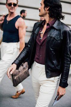 Menswear Street Style from Paris Mens 2017 | British Vogue