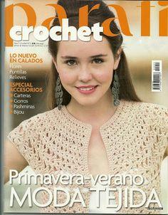 Para Tí Crochet Nº 11 - Melina Crochet - Picasa Web Albums. Uncinetto per lei. Crochet Coat, Crochet Shawl, Crochet Clothes, Crochet Stitches, Knitting Magazine, Crochet Magazine, Crochet Patron, Irish Crochet, Knitting Books