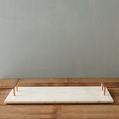 Copper Handle Serving Tray