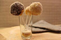 Pop cakes noix de coco et chocolat
