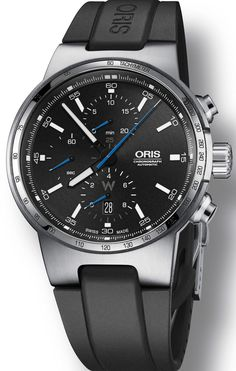 Oris Watch Williams F1 Chrono Rubber