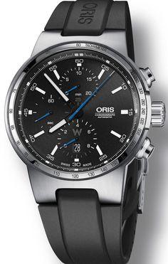 Oris Watch Williams F1 Chrono Rubber
