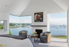 Glass House Design, Modern House Design, Ryan Homes, Historic Homes, Master Bedroom, Master Suite, Building A House, Maine, Architecture