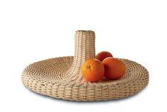 Centre de table Vime / Corbeille à fruits - Ø 52 cm