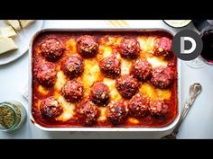 I guarantee these meatballs are 100% worth all the effort!  The Best Baked Meatballs | DonalSkehan.com