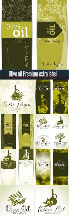 Olive oil Premium extra label