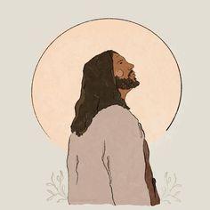 Lds Art, Bible Art, Arte Lds, Sainte Rita, Jesus Drawings, Jesus Is Life, Pictures Of Christ, Jesus Wallpaper, Jesus Painting