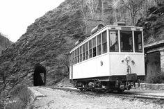 Tranvía de Granada a Sierra Nevada. Fotografía de Martin Dieterich. Archivo EuskoTren/Museo Vasco del Ferrocarril
