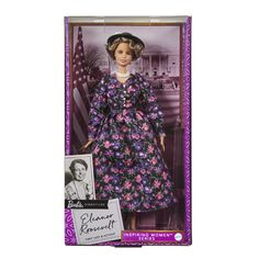 """She's the only First Lady to have a Barbie doll named after her Eleanor Roosevelt, one of the most influential women of the 20th century, is the latest figure to get the Barbie treatment. In celebration of International Women's Day, Barbie has added the former First Lady to its """"Inspiring Women"""" series. In fact, she's […] The post Barbie Celebrates International Women's Day With New Eleanor Roosevelt Doll appeared first on Scary Mommy."""