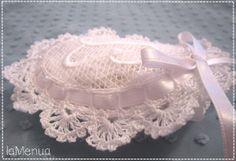 Jabonera crochet inicial