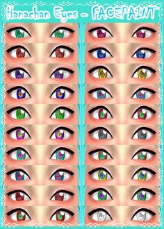 Hanachan Eyes – FACEPAINT