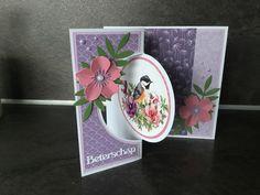 Fun Fold Cards, Folded Cards, Marianne Design Cards, Bird Cards, Scrapbooking, Victorian, Birds, 3d, Tags