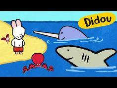 Didou dessine-moi un Requin, un Narval et une Pieuvre   Dessins animés pour les enfants - YouTube Animation, Pikachu, Snoopy, Fictional Characters, French, Youtube, Learn French, Cartoon, Reading Activities