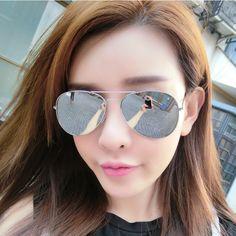 95938452500 FONEX Brand classics stylist Men   Women Sunglasses New Fashion Mirrored  Lens UV Protection Eyewear Female Pilots Sun Glasses