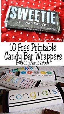 custom candy bar wrapper template.html
