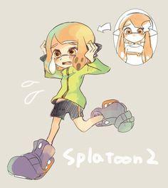 Tweet multimediali di 焼きほた (@tawara8853)   Twitter Splatoon 2 Game, Splatoon Memes, Nintendo Splatoon, Fanart, Stay Fresh, My Character, Artworks, Gaming, Marvel