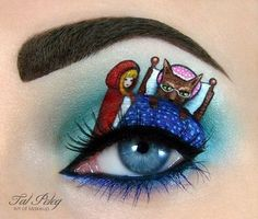 Do you think that makeup is boring? If yes, I guess that you'll change your mind right now. Tal Peleg is an Israeli artist, who transformed makeup in real art. Words are useless… Just enjoy.Source from VK