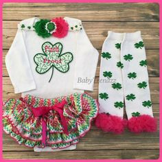 Pinch Proof/Irish Princess/St Patricks day by BabyTrendzz on Etsy