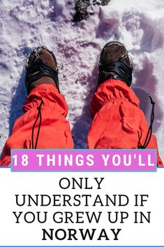 Things you'll only understand if you grew up in Norway, 18 funny things about Norwegians and Norway you'll wish you knew sooner. 18 things only Norwegians understand. Travel Jobs, Travel Advise, Travel Hacks, Travel Ideas, Travel Articles, Travel Photos, Norway Travel Guide, Norwegian People, European Travel