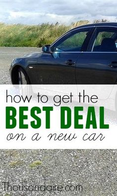 Do you want to land a good deal when you purchase a new car?Find out how you can here!