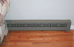 Radiant Wraps, decorative baseboard heater coverings