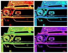 1969 Ford Mustang Shelby GT500 KR POP - by Gordon Dean II