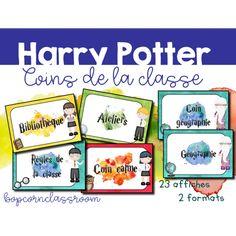 Harry Potter - Coins de la classe