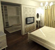 all neutral but pleanty of texture and pattern bedroom in beige