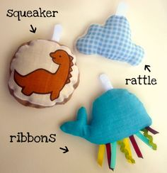 DIY baby toy velcro attachments  Loving this!! Can make a bunch so we can change out the ones we have with new ones!!