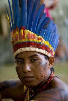 Paresi from the Amazon region
