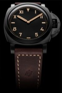 """#Panerai PAM629 Luminor 1950's 47mm Titanium DLC with California """"Cali"""" Dial - New Release from Watches and Wonders in Hong Kong"""