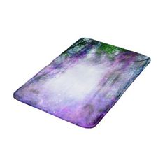 Magical Portal in the Forest Bathroom Mat