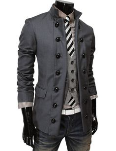 "Men's ""Colony"" Double Breasted Blazer – Tattee Boy Clothes"