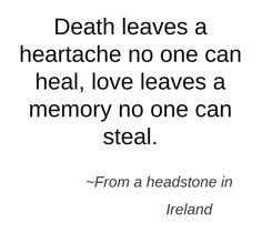 Heartache over losing you