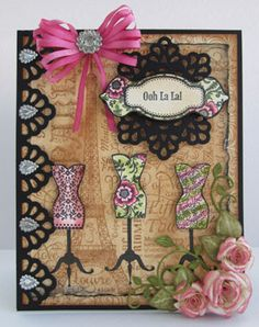 Ooh La La French Frills Clear Stamps