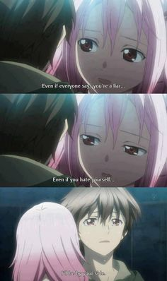 Inori's loyalty (Guilty Crown) <3