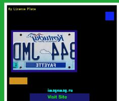 Ky license plate 182643 - The Best Image Search