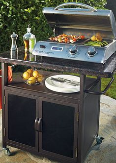 The Best in Backyard Grilling. Cook Number Gas and Electric Grills Clean Grill, Bbq Grill, Outdoor Life, Outdoor Ideas, Outdoor Living, Grill Accessories, Patio Makeover, Cooking Equipment, Outdoor Cooking