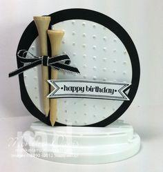 CCMC227 challenge --- Monika - a golf ball shaped card