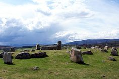 Tomnaverie Stone Circle: Tarland, Scotland