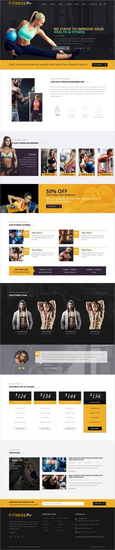 Fitnesspro is a wonderful responsive #WordPress theme for #Gym, #fitness #Health #Clubs, Spa, Meditation Centers websites download now➩ https://themeforest.net/item/fitness-pro-gym-fitness-wordpress-theme/19198413?ref=Datasata