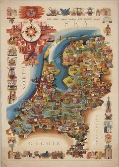Holland 1950-1960