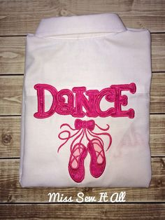 Dance Recital Cover Shirt by MissSewItAllBoutique on Etsy