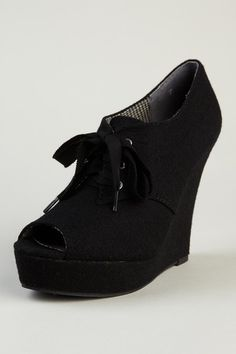 These Boots Are Made For Walkin'  BC Footwear Ruffle Wedge Bootie