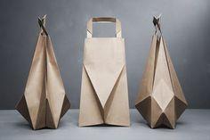 Store your crap in a sculptural bag.