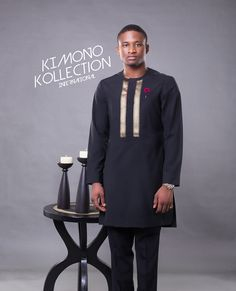 "Bespoke tunics and natives offers the opportunity to truly personalise your tunic from a choice of style and details and great range of finest Africa material.. Kimono Kollection specialise in bespoke tailoring which means they hand-make every piece of your suit/native from scratch, according to the measurements that we take from you. ""The finest materials …"
